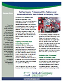 Fairfax Fire Fighters and Paramedics Success Story